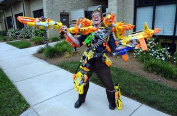 %name Today's huge Amazon sale on Nerf guns is your back to school gift to